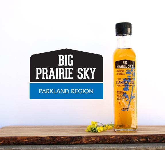 Big Prairie Sky Cold-Pressed Virgin Canola Oil